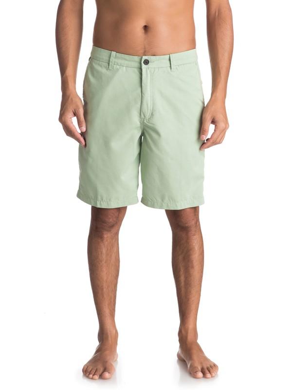 0 Waterman Maldive Chino Shorts Green AQMWS03058 Quiksilver