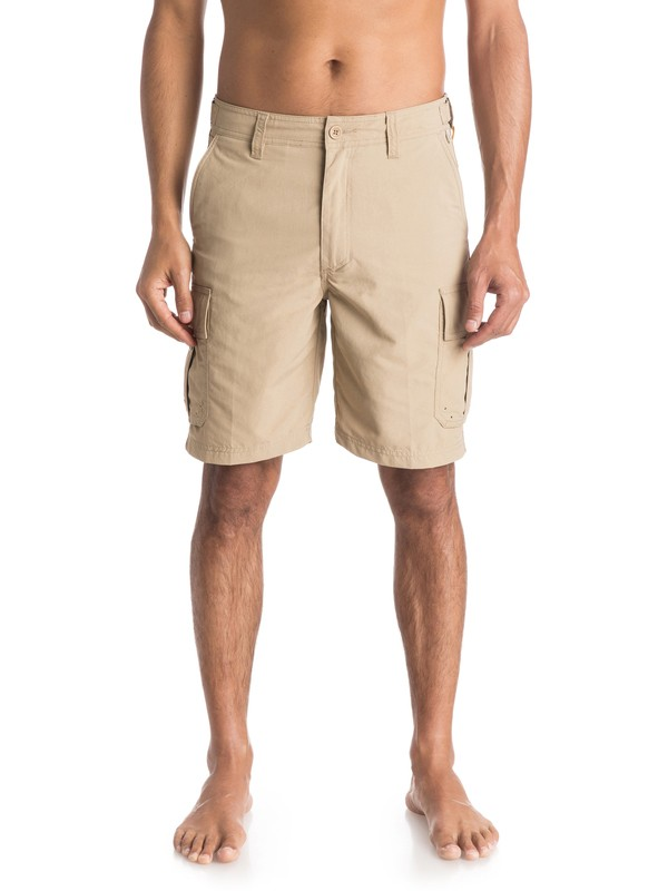 "0 Waterman Skipper 20"" - Cargo Shorts  AQMWS03066 Quiksilver"