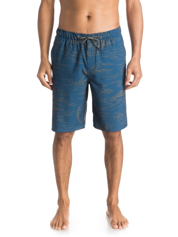 "0 Waterman Seaside 20"" Amphibian Shorts  AQMWS03083 Quiksilver"