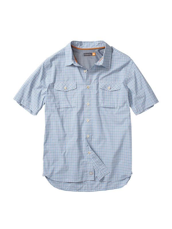 0 Men's Marine Lab Short Sleeve Shirt  AQMWT00012 Quiksilver