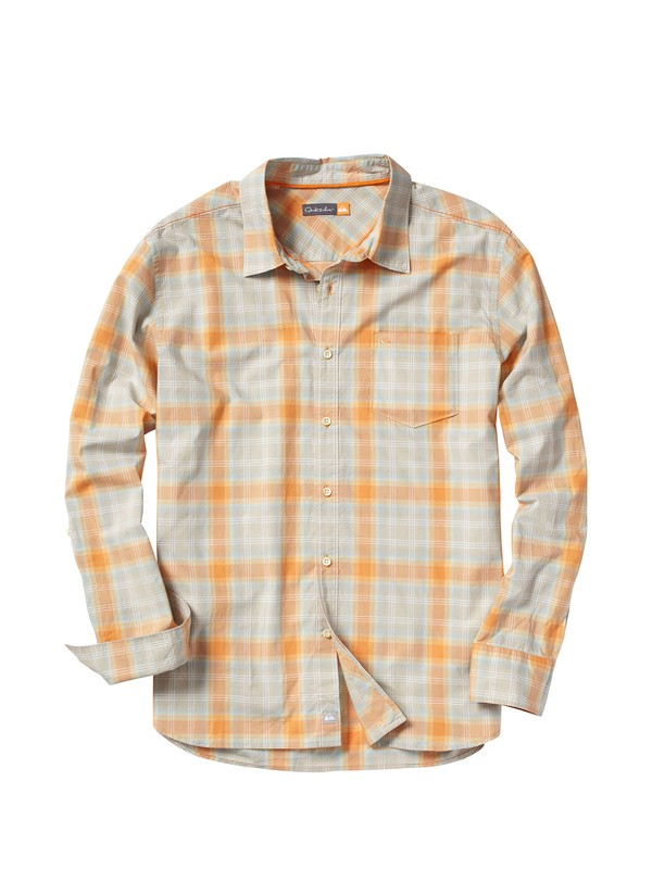 0 Men's North Pier Long Sleeve Shirt  AQMWT00020 Quiksilver