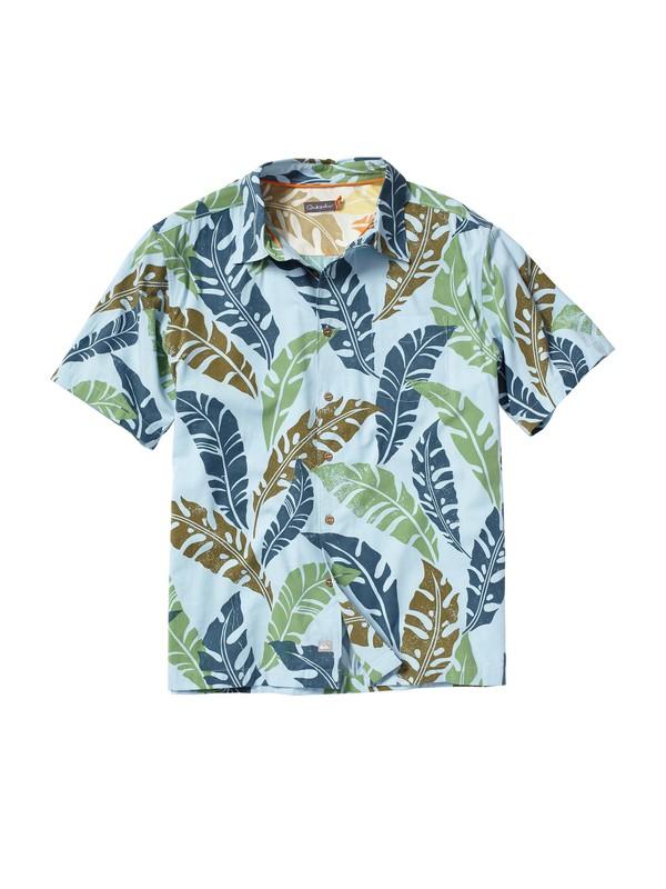 0 Men's Vilano Beach Short Sleeve Shirt  AQMWT00026 Quiksilver