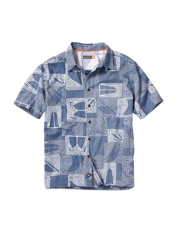 0 Men's Kahutara Short Sleeve Shirt  AQMWT00027 Quiksilver