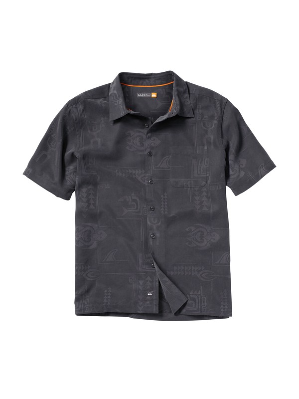 0 Men's Waikomo Short Sleeve Shirt  AQMWT00033 Quiksilver