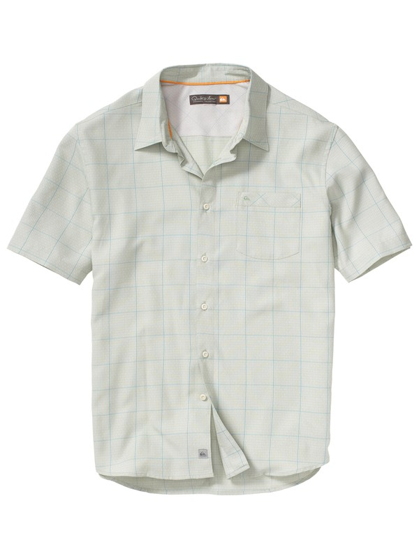 0 Men's Porpoise Bay 2 Short Sleeve Shirt  AQMWT00050 Quiksilver