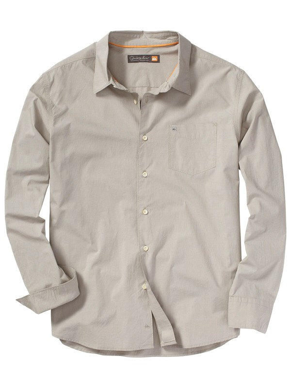 0 Men's Moss Beach Long Sleeve Shirt  AQMWT00054 Quiksilver