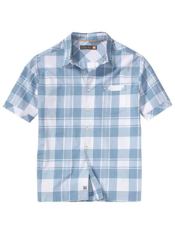 0 Men's Seal Beach Short Sleeve Shirt  AQMWT00055 Quiksilver