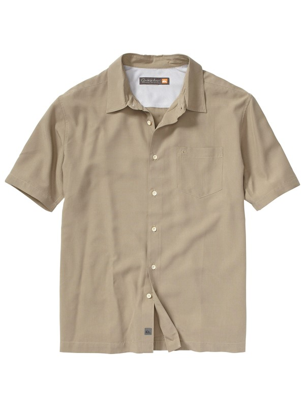 0 Men's Dune Bay Short Sleeve Shirt  AQMWT00056 Quiksilver