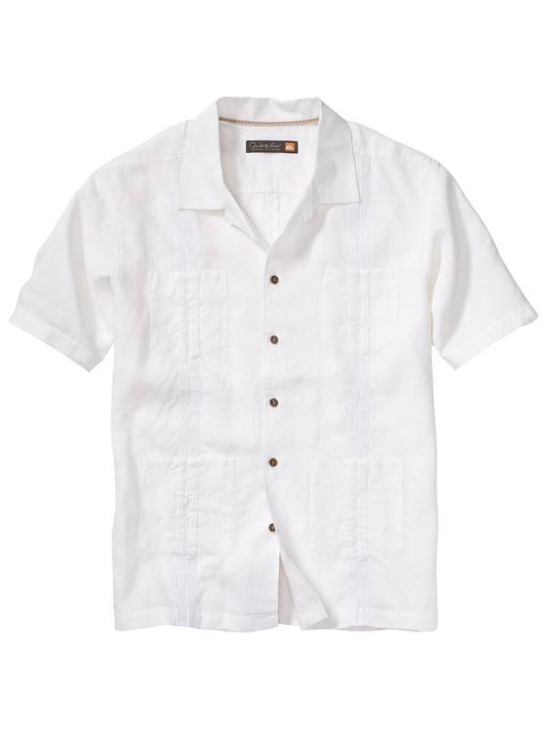 0 Men's Kahaluu Bay Short Sleeve Shirt  AQMWT00058 Quiksilver