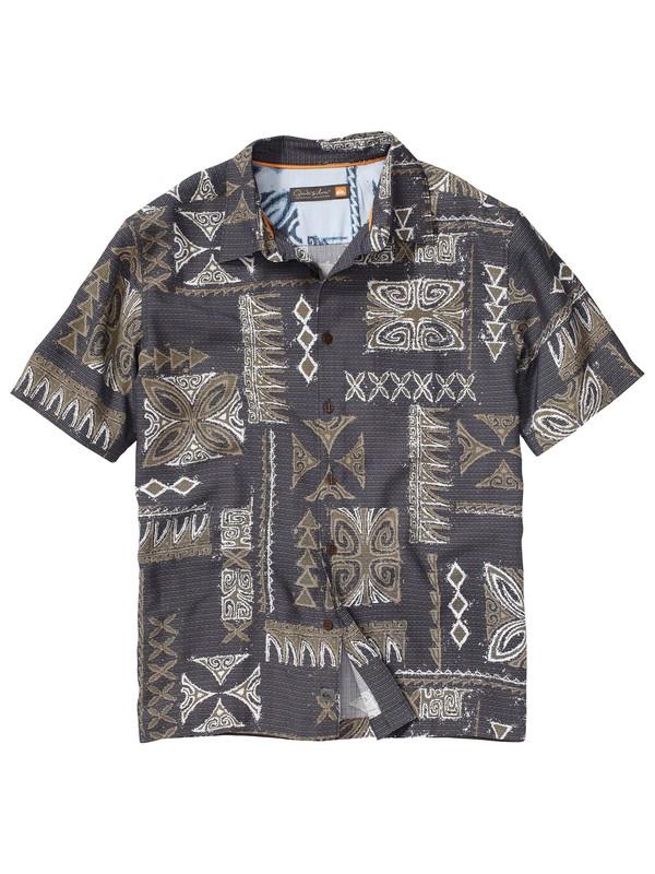 0 Men's La Poloma Short Sleeve Shirt  AQMWT00060 Quiksilver