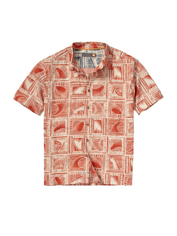 0 Men's Peahi Short Sleeve Shirt  AQMWT00068 Quiksilver