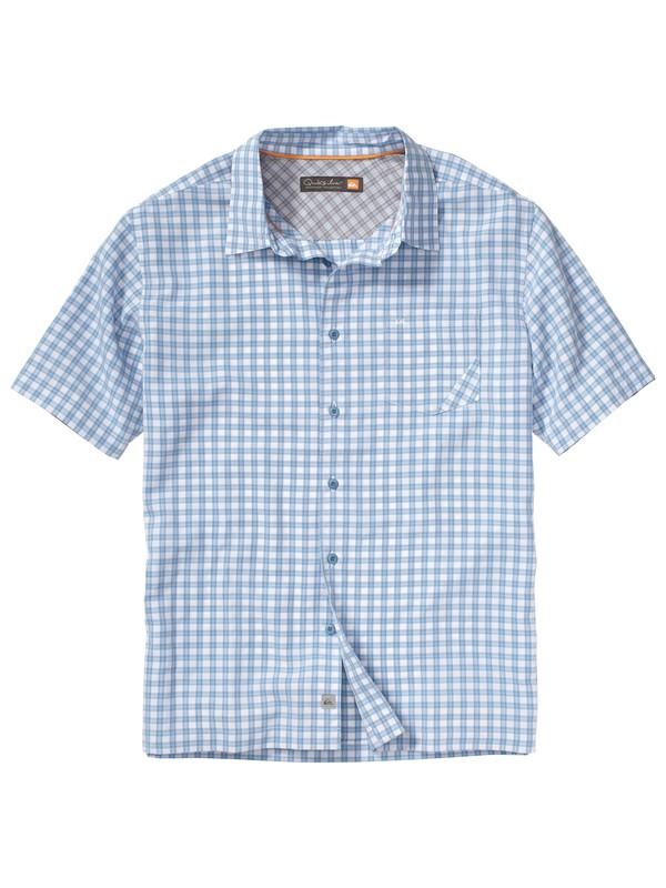 0 Men's Topsail Beach Short Sleeve Shirt  AQMWT00075 Quiksilver