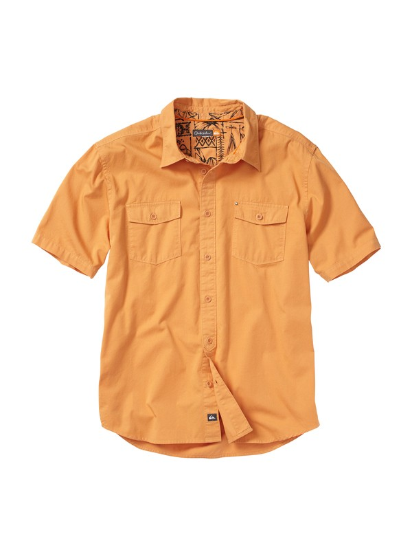 0 Men's Overboard Short Sleeve Shirt  AQMWT00078 Quiksilver