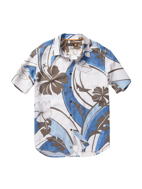 0 Men's Anahola Bay Short Sleeve Shirt  AQMWT00085 Quiksilver