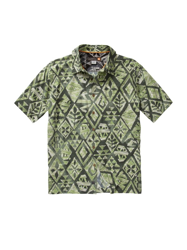 0 Men's Moorea Short Sleeve Shirt  AQMWT00087 Quiksilver