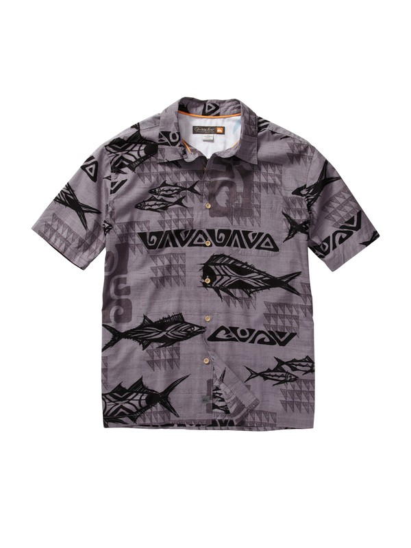 0 Men's Mana Point Short Sleeve Shirt  AQMWT00090 Quiksilver