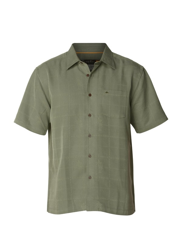 0 Men's Papaya Point Short Sleeve Shirt  AQMWT00097 Quiksilver