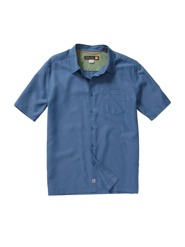 0 Men's Kings Cliff Short Sleeve Shirt  AQMWT00101 Quiksilver