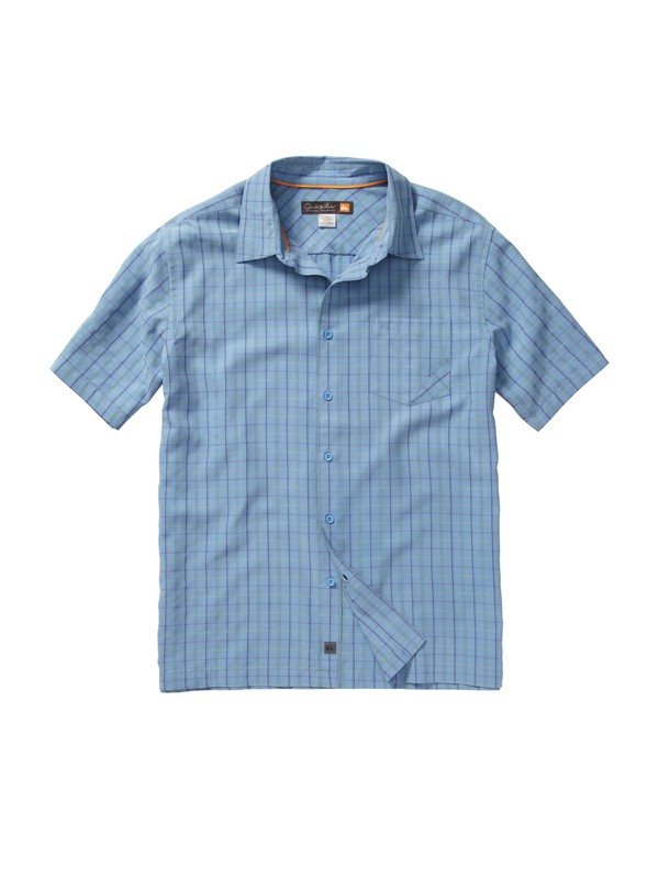 0 Men's Tilbury Point Short Sleeve Shirt  AQMWT00102 Quiksilver