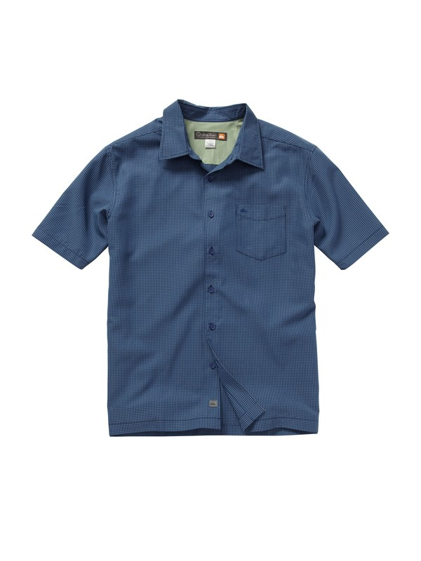 0 Men's Esplanade Short Sleeve Shirt  AQMWT00124 Quiksilver