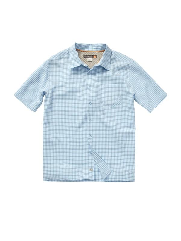 0 Men's Pavones Short Sleeve Shirt  AQMWT00127 Quiksilver