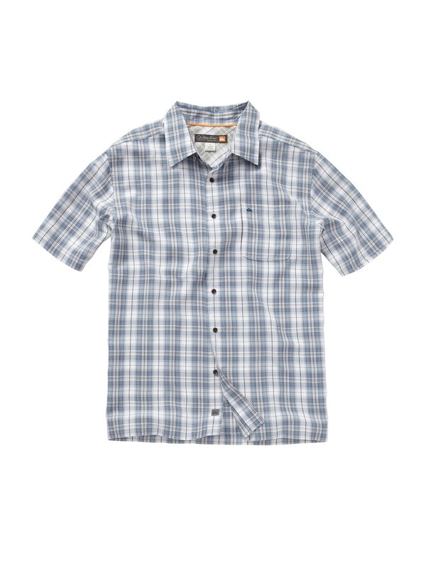 0 Men's Punta Banco Short Sleeve Shirt  AQMWT00128 Quiksilver