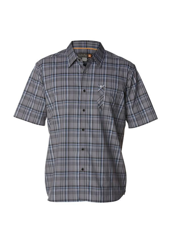 0 Men's Quadra Island Short Sleeve Shirt  AQMWT00135 Quiksilver