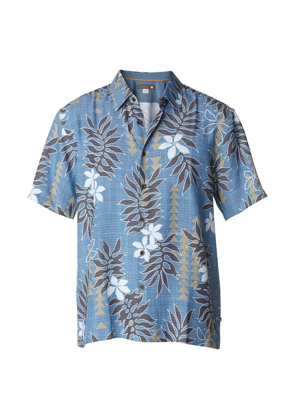 0 Men's Kaloko Short Sleeve Shirt  AQMWT00146 Quiksilver