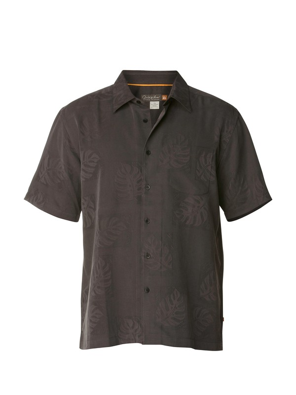 0 Men's Kalihi Short Sleeve Shirt  AQMWT00149 Quiksilver