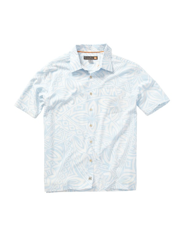 0 Men's Verata Bay Short Sleeve Shirt  AQMWT00156 Quiksilver