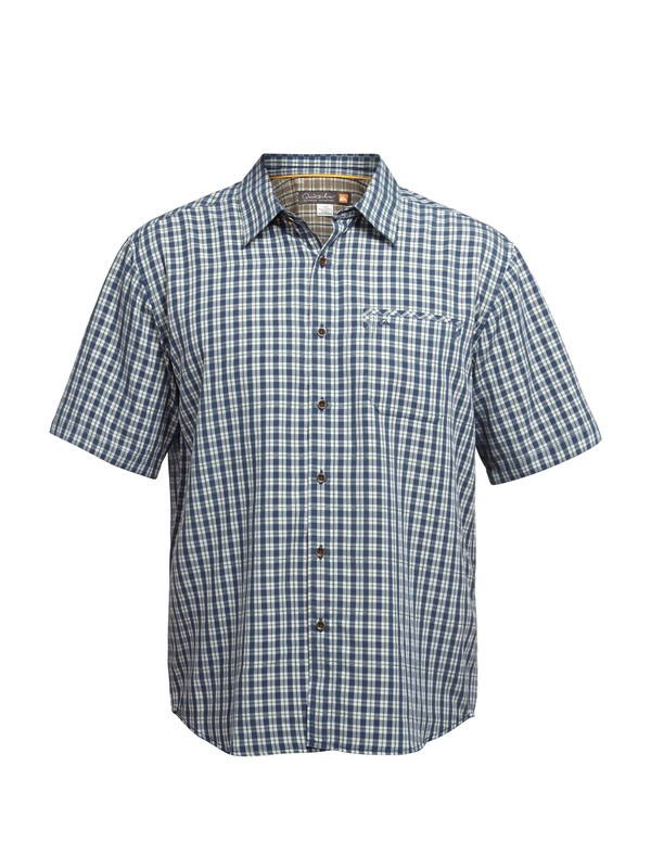 0 Men's Twin Lakes Short Sleeve Shirt  AQMWT03005 Quiksilver