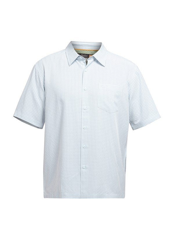 0 Men's Lyall Bay Short Sleeve Shirt  AQMWT03008 Quiksilver