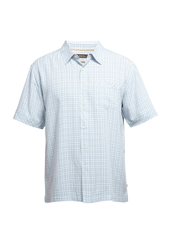 0 Men's Whitford Beach Short Sleeve Shirt  AQMWT03009 Quiksilver