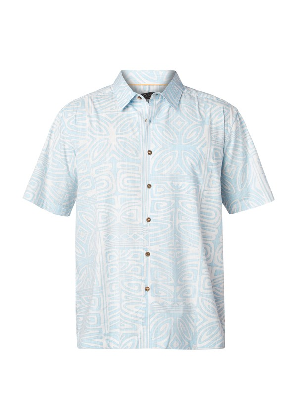 0 Men's Kalapana Short Sleeve Shirt  AQMWT03028 Quiksilver