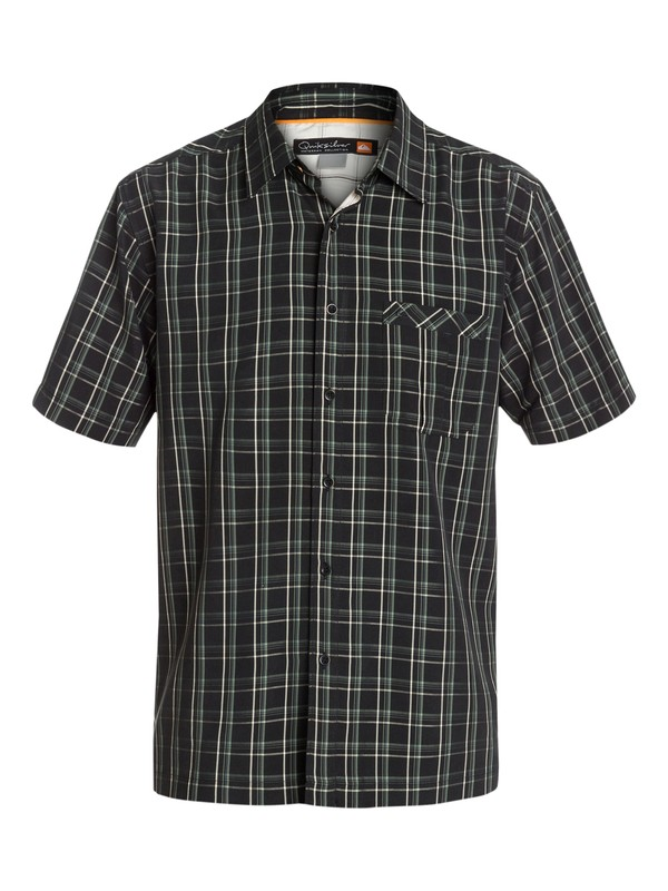 0 Men's Kirra Bay Short Sleeve Shirt  AQMWT03037 Quiksilver