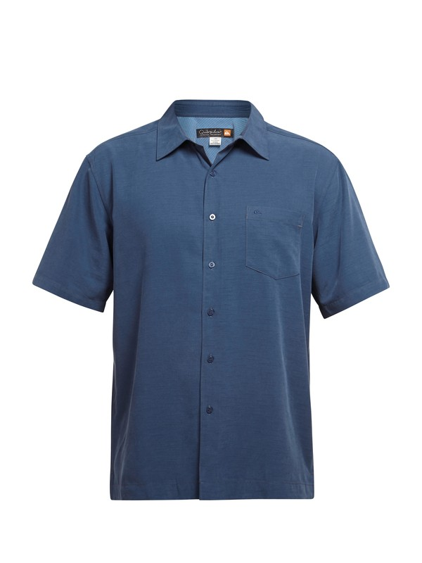 0 Men's Clear Days Short Sleeve Shirt  AQMWT03041 Quiksilver