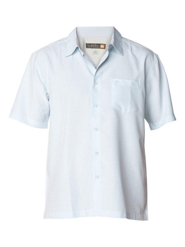0 Men's Centinela Short Sleeve Shirt  AQMWT03043 Quiksilver