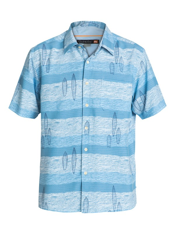 0 Men's Snapper Rocks Short Sleeve Shirt  AQMWT03055 Quiksilver