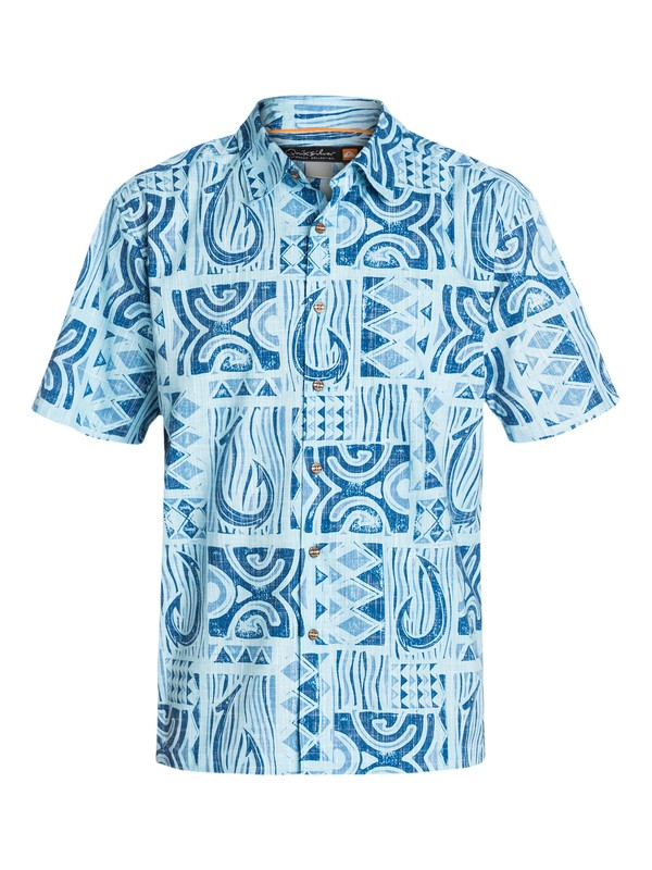 0 Men's Punta Negra Short Sleeve Shirt  AQMWT03069 Quiksilver