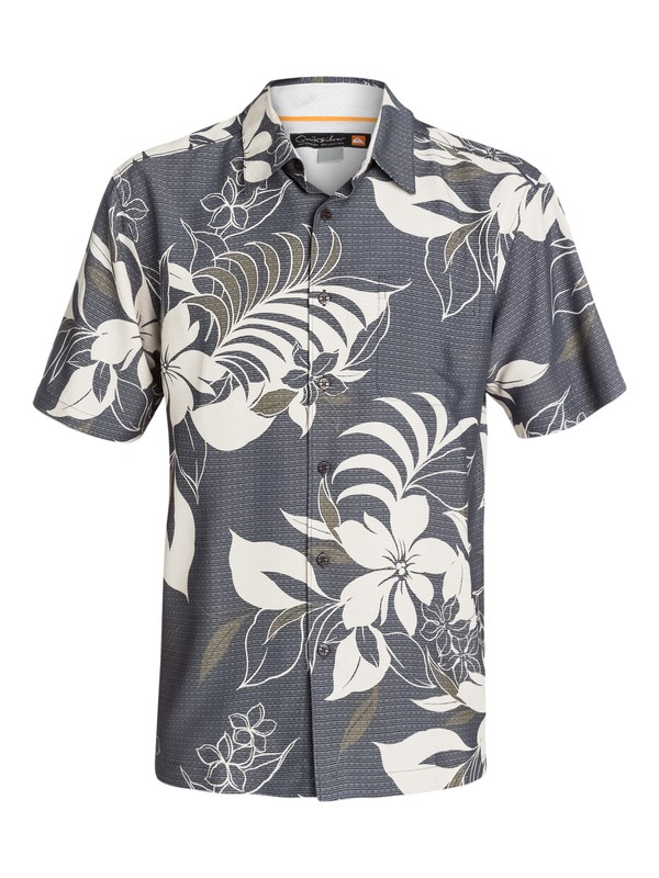0 Men's Rosarito Short Sleeve Shirt  AQMWT03071 Quiksilver