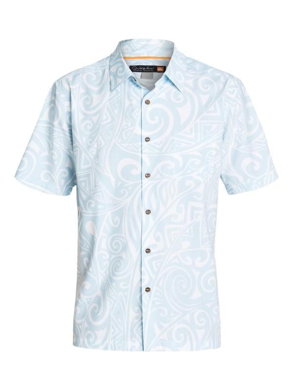 0 Men's Ensenada Short Sleeve  Shirt  AQMWT03073 Quiksilver