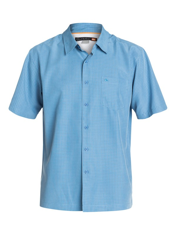 0 Men's San Juan Short Sleeve Shirt  AQMWT03077 Quiksilver