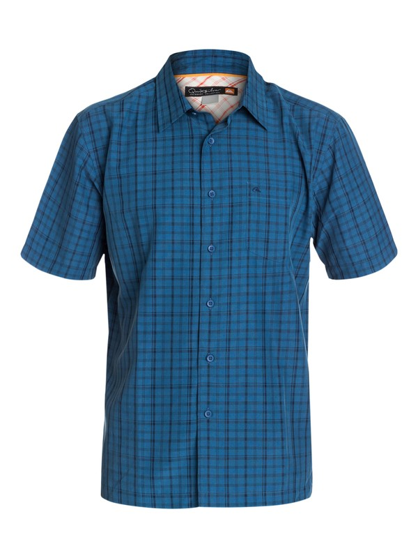 0 Men's San Clemente Short Sleeve Shirt  AQMWT03078 Quiksilver