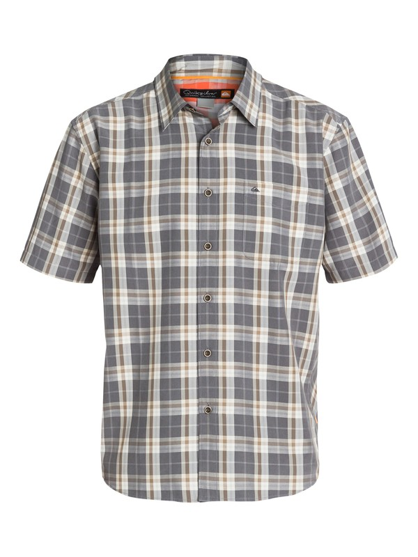 0 Men's Goldenwest Short Sleeve Shirt  AQMWT03079 Quiksilver
