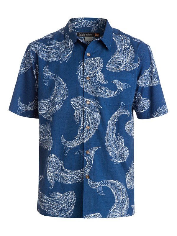 0 Men's Juno Beach Short Sleeve Shirt  AQMWT03092 Quiksilver