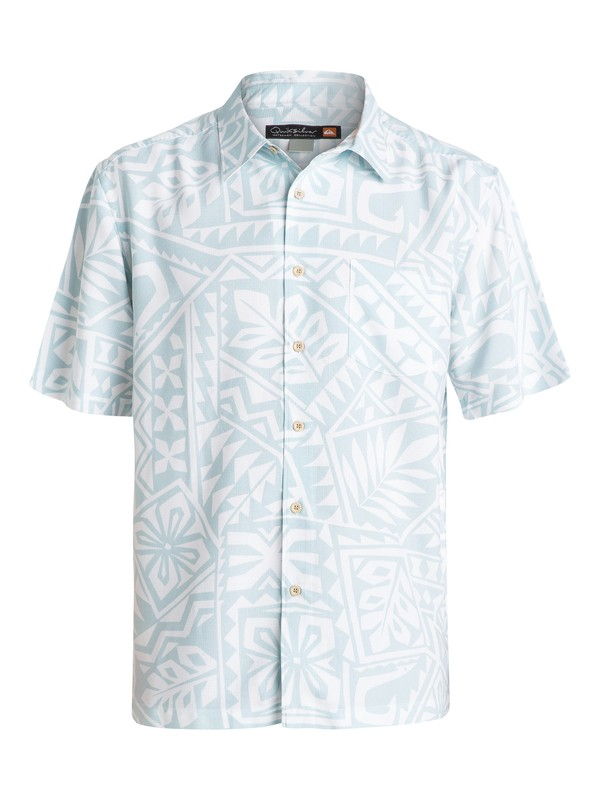 0 Men's North End Short Sleeve Shirt  AQMWT03093 Quiksilver