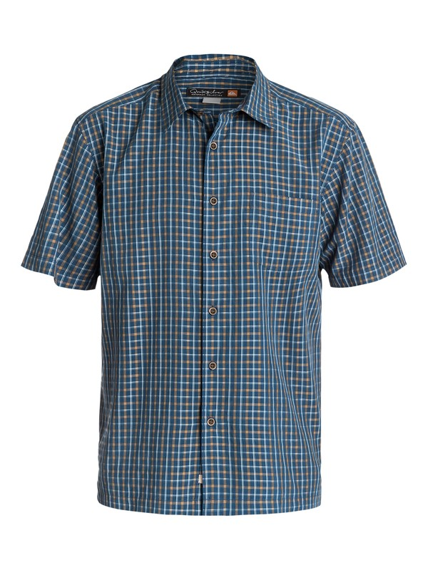 0 Men's Granada Short Sleeve Shirt  AQMWT03097 Quiksilver