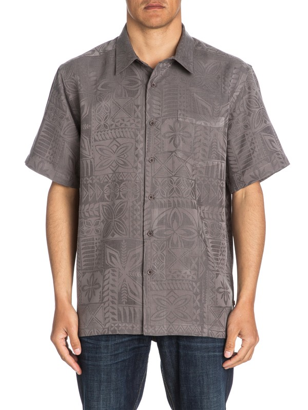 0 Waterman Aganoa Bay Short Sleeve Shirt  AQMWT03105 Quiksilver