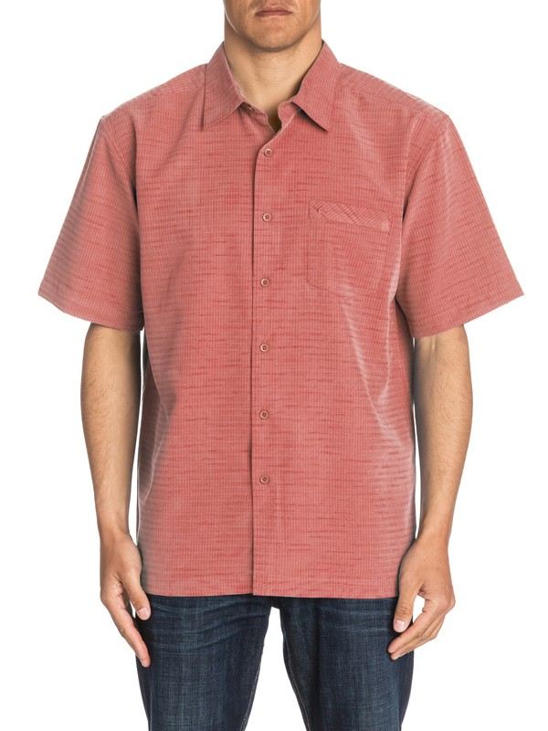 0 Waterman Centinela Short Sleeve Shirt  AQMWT03106 Quiksilver