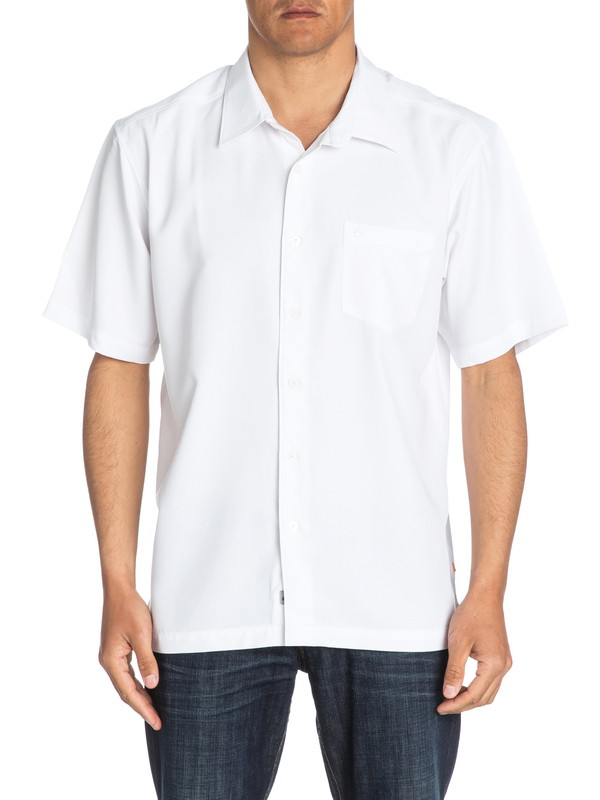 0 Waterman Clear Days Short Sleeve Shirt  AQMWT03107 Quiksilver